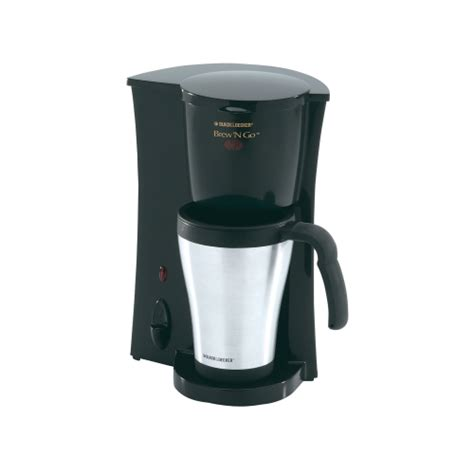 black decker 174 single cup coffee maker dcm18s 0 auto drip coffee makers ace hardware