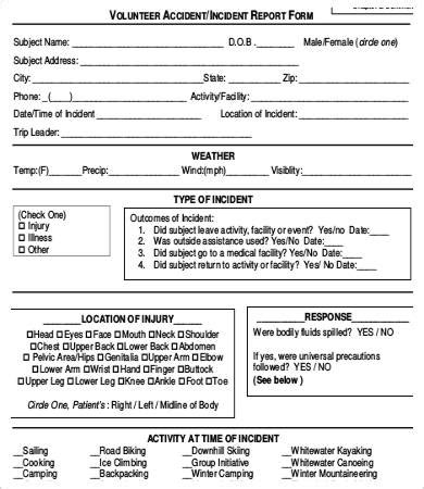 report form template 19 report form free sle exle format free premium templates