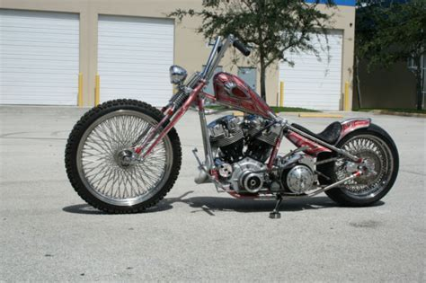 1964 Flh Harley Davidson Chopper 5speed Panshovel Panhead
