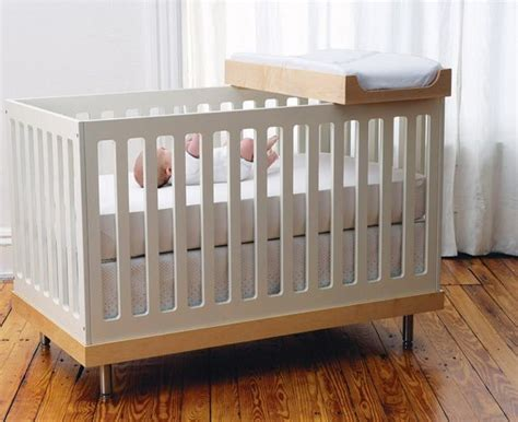 Small Space Solution Crib With Change Tray  Oeuf Crib