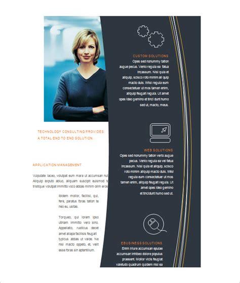 microsoft brochure template   word