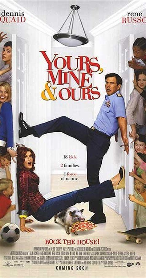 rene russo dennis quaid movie yours mine ours directed by raja gosnell with dennis