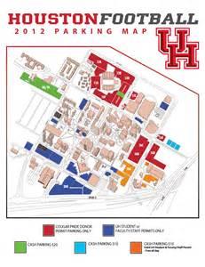 University of Houston Parking Map