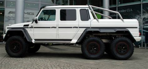 mercedes benz jeep 6 wheels mercedes benz g 63 amg 6x6 for sale 100 produced cars