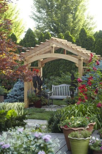 Backyard Trellis Ideas by Arbor Ideas Wooden Arbor A Bench Gardening