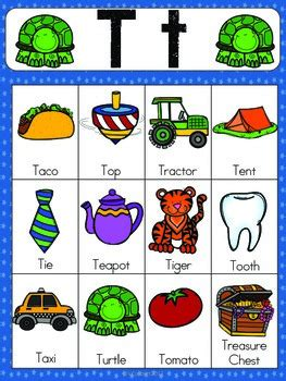 words with letter t letter t vocabulary cards by the tutu teachers 25759 | original 2155447 2