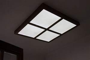 Led ceiling panel light board sky virtual