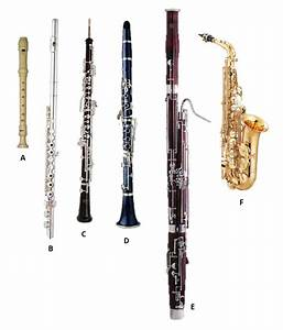 Free coloring pages of woodwind