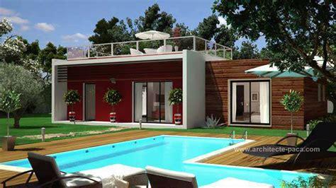 dessiner un plan de cuisine plan maison bois plain pied 160 villad 39 architecte 160