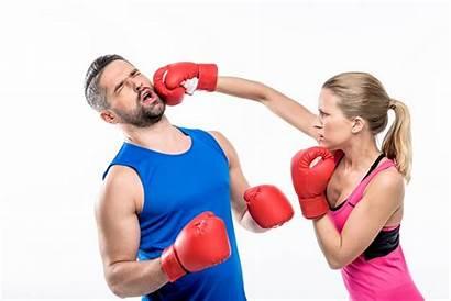 Boxing Woman Karate Training Skills Class Personal