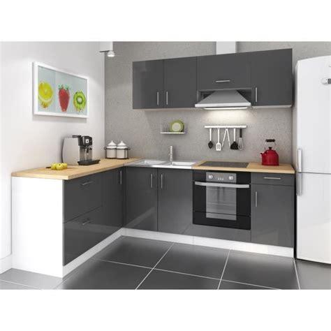 mobilier cuisine pas cher meuble de cuisine noir pas cher