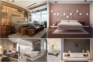 Innovative, Bedroom, Main, Wall, Design, Ideas