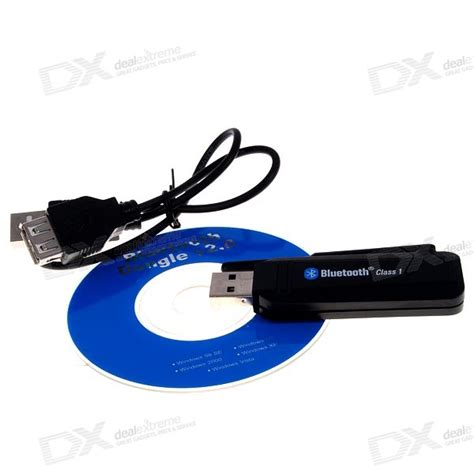 bluetooth 2 0 edr class 1 vista ready usb dongle 100 meter range free shipping dealextreme