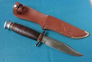 Eby De : edge brand germany original bowie knife 436 vintage solingen made hunting mark ebay ~ Orissabook.com Haus und Dekorationen