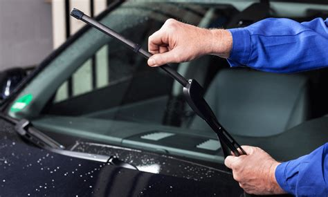 inspect  replace windshield wiper blades
