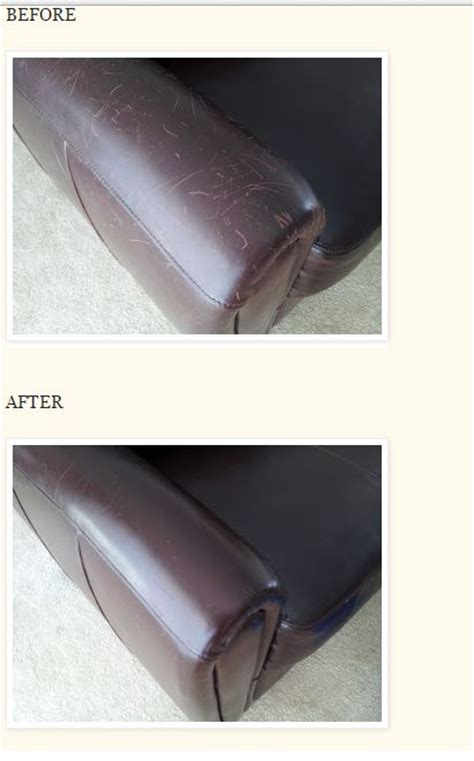 how to remove scratches from leather do it yourself