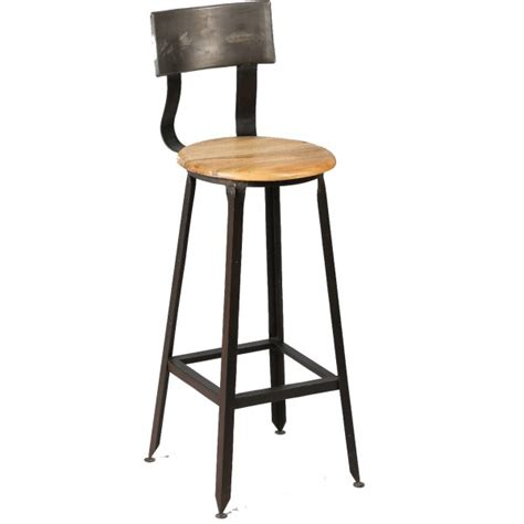 chaise haute industriel chaise haute industriel en bois et acier