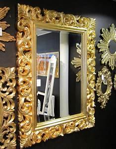 Barock Spiegel Xxl : wandspiegel flurspiegel 120x90 barock gold spiegel ~ Lateststills.com Haus und Dekorationen