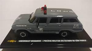 Miniatura Veraneio Rota Antiga Viatura Chevrolet