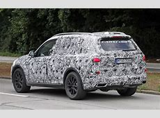 BMW X7 spotted with production ready headlights Dubai