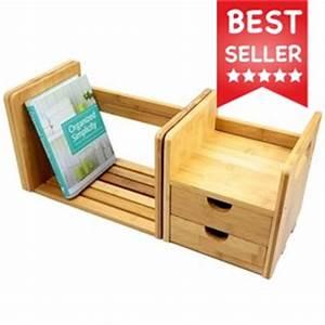 iPad Stand, Desk Organiser Bamboo Office Supplies