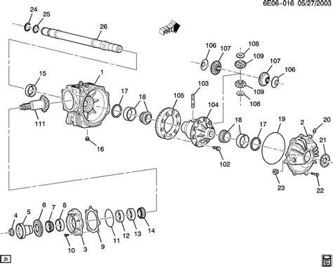 2006 Cadillac Cts Parts Diagram