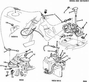 How To Install 2000 Chevrolet Lumina Shift Cable