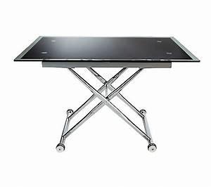 Table Basse Reglable Hauteur : table reglable en hauteur alinea ~ Carolinahurricanesstore.com Idées de Décoration