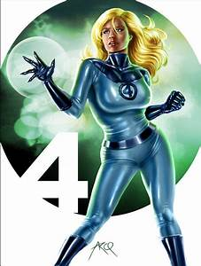 Invisible Woman - FF Detail by ArcosArt on DeviantArt