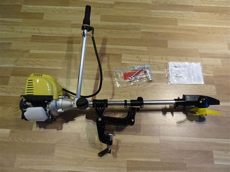 Fishing Boat Outboard Engine by Outboard Motor Very Light Kayak Inflatable Light