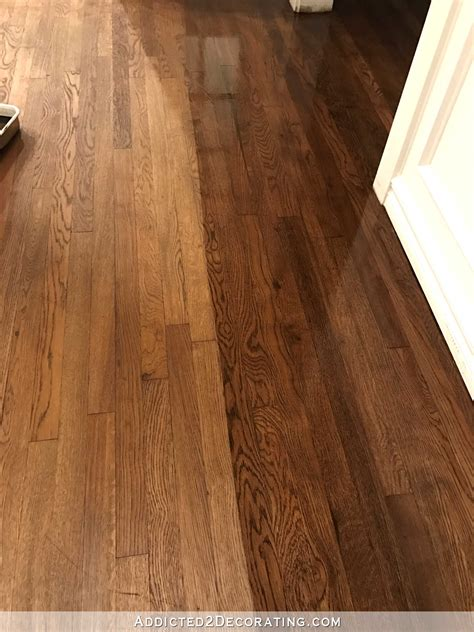 wood floor colors the hardwood floor refinishing adventure continues tip