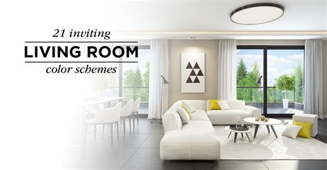 Livingroom Color Schemes by 20 Inviting Living Room Color Schemes Ideas And