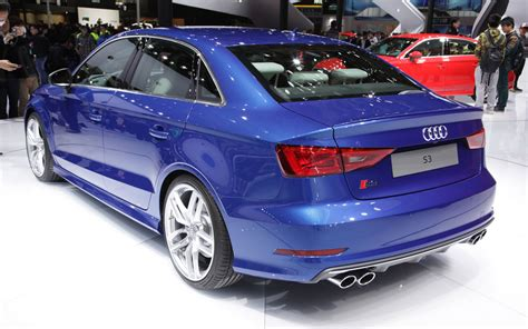 2018 Audi A3 S3 Gets Trunked 2018 Shanghai