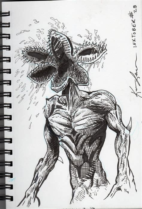 demogorgon drawing wallpaper  clip arts