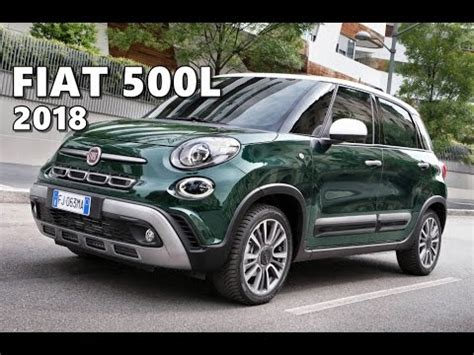 Fiat 500l (2018) Test Drive, Walkaround, Interior Youtube