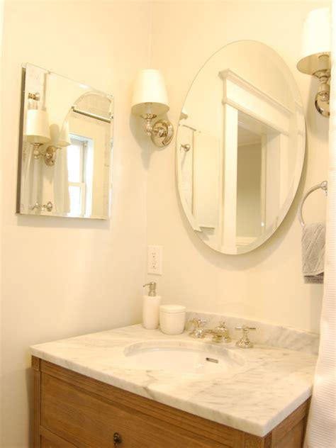 Bathroom Mirrors With Sconces by Sconces Flanking Bathroom Mirror Design Ideas