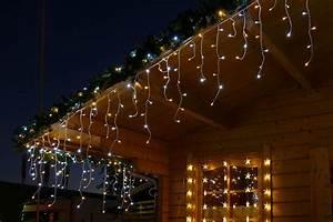 Led Lichterkette Eisregen : lichterkette zur weihnachtsbeleuchtung ~ Orissabook.com Haus und Dekorationen