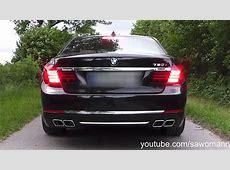 2015 BMW 760i F01 LCI 544 HP Launch Control, Engine Rev