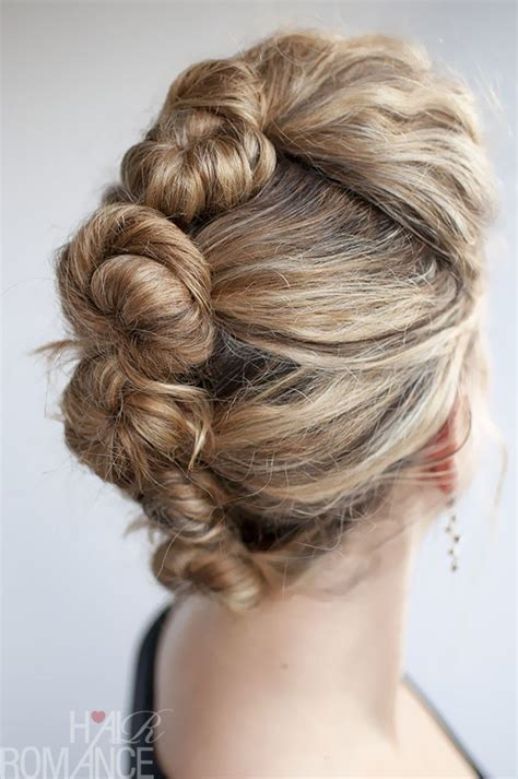 Twisting Hairstyles by Braids Twists And Buns 20 Easy Diy Wedding Hairstyles