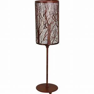 Abat Jour Lampe A Poser : lampe colonne abat jour for t ~ Dailycaller-alerts.com Idées de Décoration