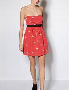 Robe really rouge robes sans manches sandro boutique for Robe rouge sandro