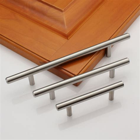 stainless steel cabinet hardware 2 18 quot solid stainless steel kitchen cabinet handles pulls