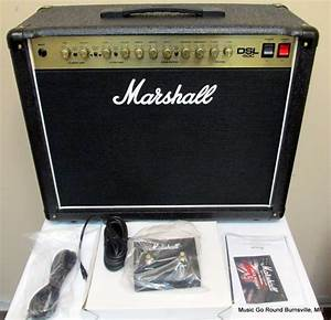 Marshall Dsl40c Combo With Box  Manual  Footswitch