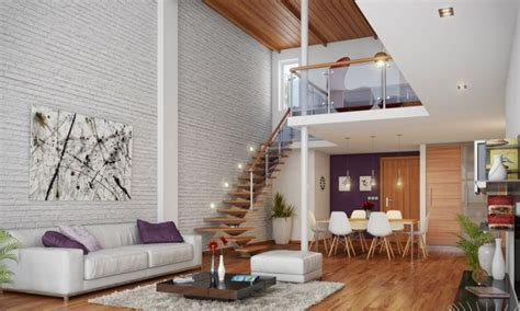 couvrir un canapé papier peint brique pour un salon de style industriel