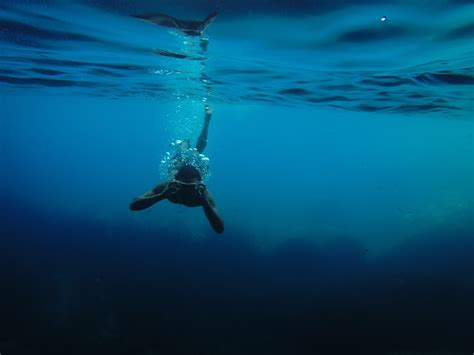 Underwater Dive - free images sea water recreation swimming