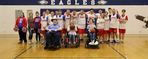mhs unified basketball unites students messalonskee high