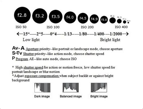 simplified helpful photography guide  photo cheat