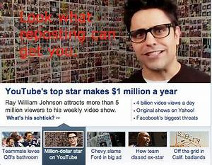 YouTube's top star makes $1million a yearRay William ...