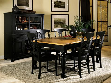 black wood dining room chairs black wood dining table