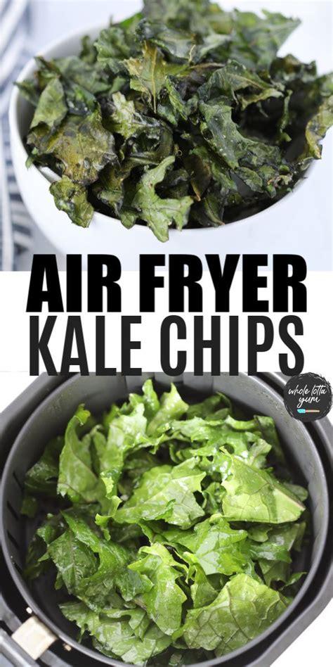 kale air chips fryer healthy wholelottayum recipes
